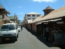 Grenville, capital of St.Andrew, market